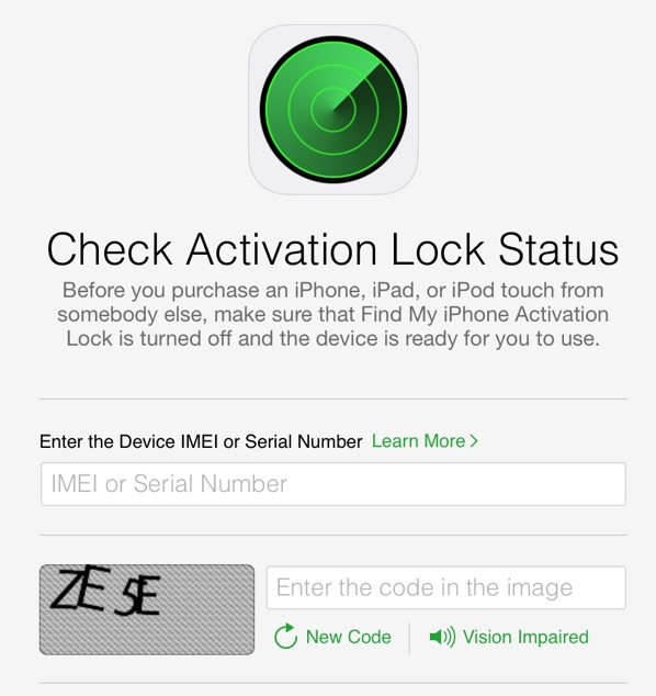 Apple Removes Tool to Check if an iPhone or iPad is Activation Locked